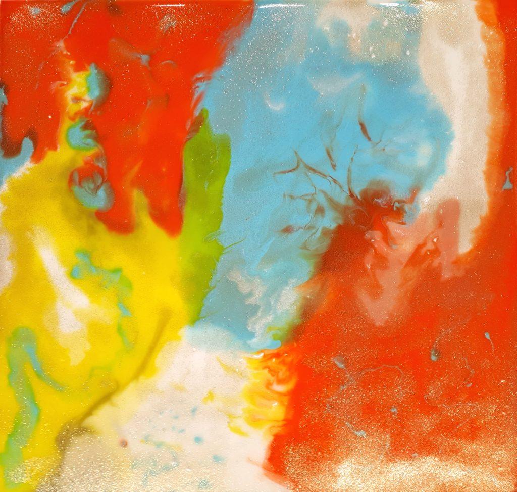 DH epoxy abstract schilderij epoxyworkshop Antoynette Anema