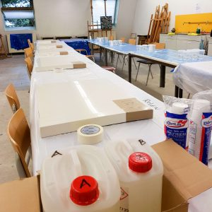 Workshop epoxy - masterclass epoxy gieten