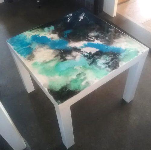 EDW tafel epoxy epoxyworkshop 2 Antoynette Anema
