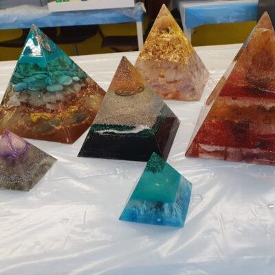 Epoxy Piramides epoxyworkshop