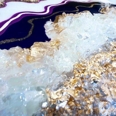 Geode in 2 delen detail
