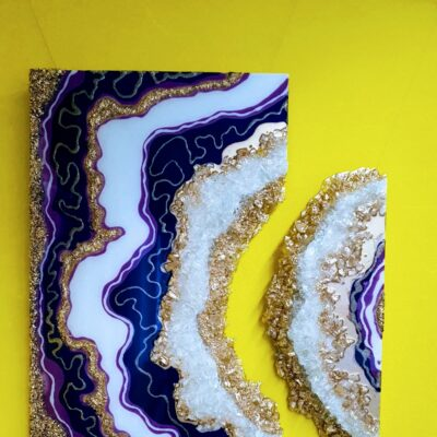 Geode in 2 delen