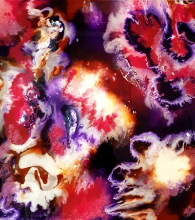 InZu epoxy workshop resin art Antoynette Anema