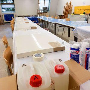 Workshop epoxy - masterclass epoxy gieten